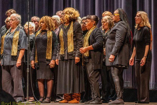 (January 2019) Coastal West Community Choir. MLK Jr holiday, MLKSB Morning Program at the Arlington Theatre, Santa Barbara, CA.  (Photo by Rod Rolle)