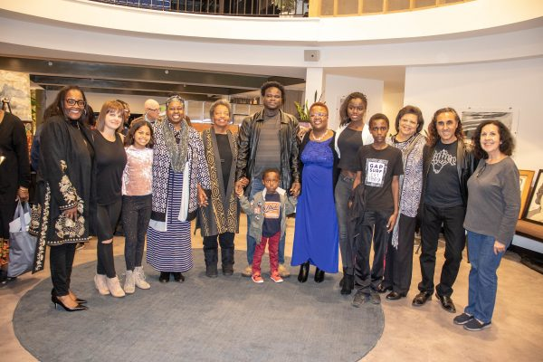 """January 19, 2019 - Santa Barbara, CA: MLKSB and Pacifica Graduate Institute in cooperation with the Anti-Defamation League presents """"Together We Stand"""", An Evening of Poetry and Art at the Impact Hub in Santa Barbara, CA on January 19, 2019. (Photo by Rod Rolle)  Hosted by: Sojourner Kincaid Rolle, Martin Luther King Jr. Easy and Poetry Chair Wendy Sims-Moten, Board President, Santa Barbara Unified District  Dianne Travis-Teague, Direct of Alumni Relations, Pacifica Graduate Institute Dr. Fanny Brewster, Jungian Analyst & Core Faculty Pacifica Graduate Institute  Program: Emiliano Campobello, Musician Melinda Palacio, Invited poet Jaeda Natale, Martin Luther King 2019 Poetry Winner Kundai Chikowero, Martin Luther King 2019 Poetry Winner Mira Oaten, Invited poet Sio Tepper, Invited poet Unique Shehee, Ventura County Youth Poet Laureate Natasha Moore, Invited poet Emiliano Campobello, Invited poet  Art Exhibit Tara Atherley Leslie Clark Dion Cherot Valerie deMille Dave Duerson Rod Rolle"""