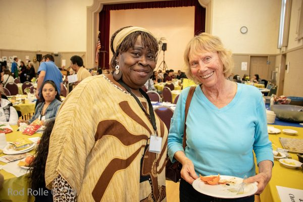 anuary 21, 2019 - Santa Barbara, CA: Martin Luther King, Santa Barbara celebrates Martin Luther King Jr's Holiday with a community luncheon at the United Methodist Church in Santa Barbara, CA on January 21, 2019.  (Photo by Rod Rolle)